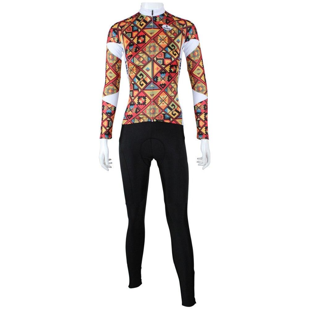 Offre spéciale grille conception cyclisme Jersey respirant pleine longueur caché Zipper vélo maillot pour les femmes