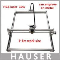 DIY 10w Big Power Laser Metal Engraver Laser Metal Cutting Machine 1 1m Big Work Size