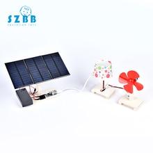 SZ STEAM Model Toy Diy Solar Power Station Developing Intelligent STEM Toy Science Electric Toy Birthday Gift SZ3350