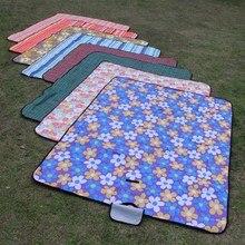 Stuoia di Picnic a prova di umidità mat esterno portatile rinforzato di picnic del panno primavera outing picnic campo da beach prato mat1.5 * 1.8 m