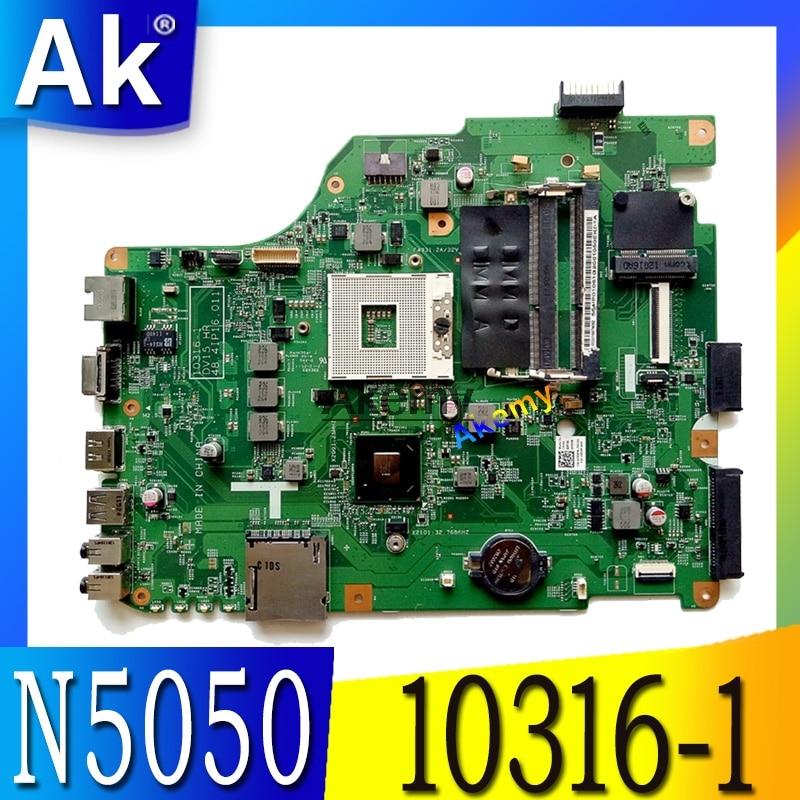 10316-1 For Dell N5050 Laptop Motherboard 10316-1 DV15 HR 48.4IP16.011 Motherboard Integrated HM67 Original Test 100%