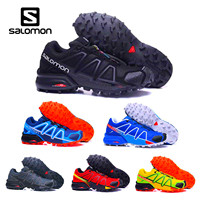 Salomon Speed Cross 4 CS cross country men running shoes Brand Sneakers Male Athletic Sport Shoes SPEEDCROS Fencing Shoes hot