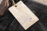 джинсы зимние мода новый список свободного покроя искусственная кожа шить толстые ботинки брюки узкие брюки и брюки карандаш бесплатная доставка