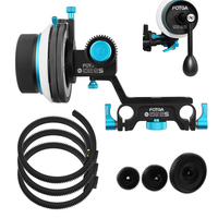 FOTGA DP500IIS A/B Hard Stop Follow Focus+3PCS Gear/Ring Belt+Crank Handle Kits