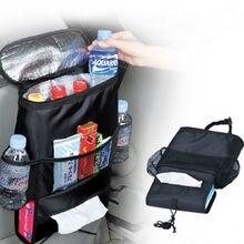Многофункциональная дорожная сумка для хранения, подвесной органайзер, охладитель, изолированный, для детской коляски, с карманами, для автомобиля, для льда, для путешествий, для заднего сиденья автомобиля