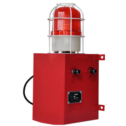 YS-2000 135dB Industrial alarm safety alarm kit flashing light sound and light alarm