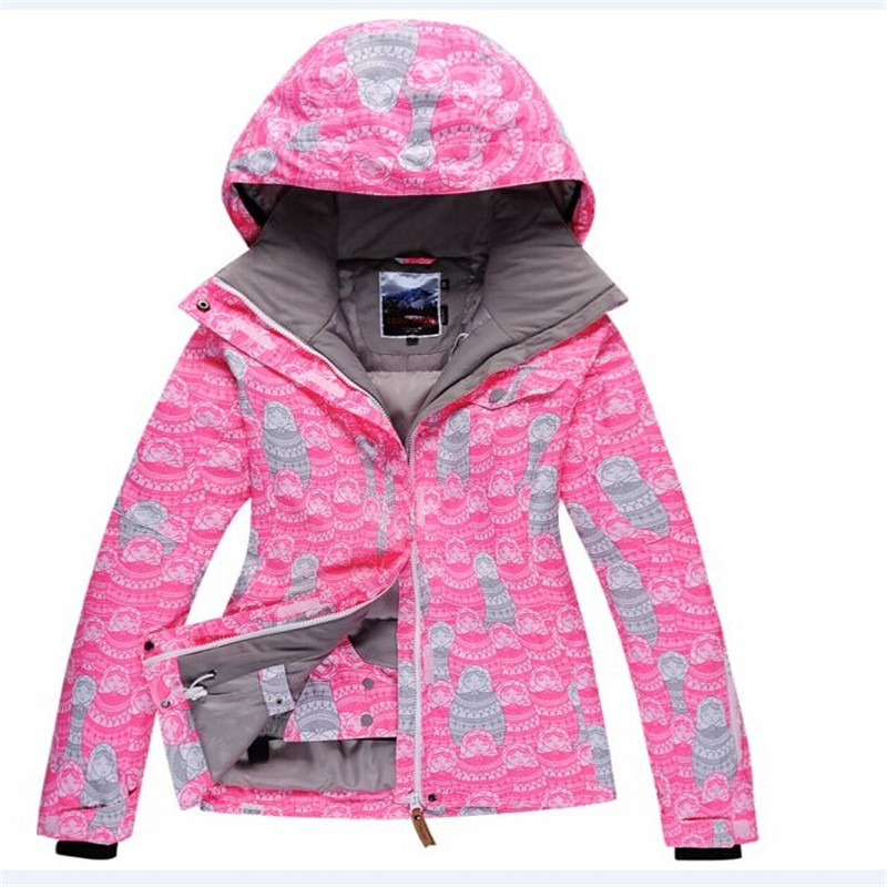 high quality Red Snow jackets Woman Ski jacket 10K Waterproof Windproof Breathable Snowboarding Coats jackets outdoor costumes