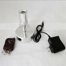 3 년 보증 1 w/3 w 충전 led 스팟 램프, 배터리 무선 디스플레이 램프, 원격 제어 웨딩 라이트