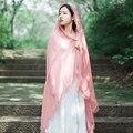 2016 женская мода зима теплая Кружева шарф мягкая Равнина Хлопка Женщин Шарфы Платки Длинный Шарф