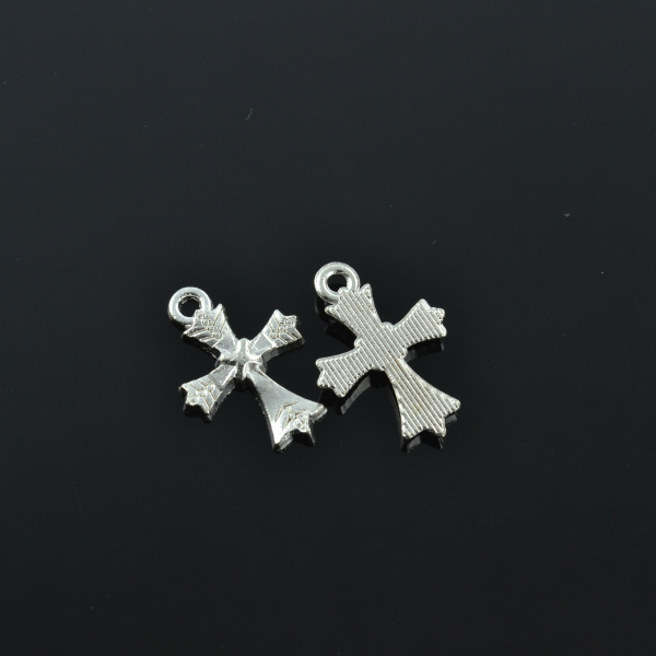 50//100pcs Music Note Tibet Silver Charms Pendant DIY Jewelry Accessories 24*15mm