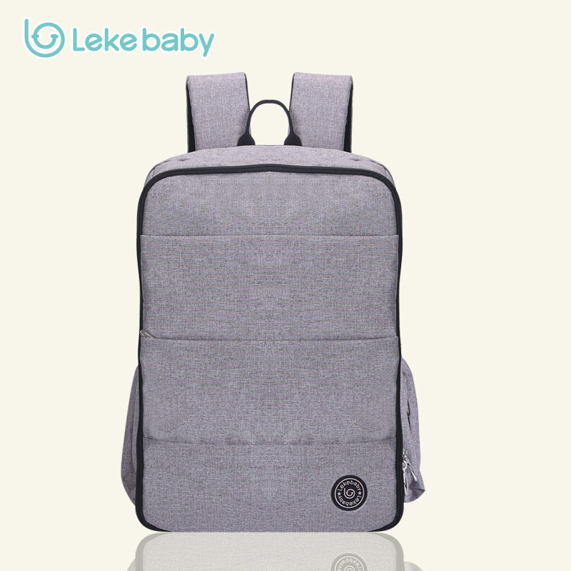 LEKEBABY Fashion Baby Bags Tote Diaper Bag Organizer Large Nappy Bags Diaper Backpack Maternity Bag 15cm anime figure daredevil action figure collectible model toys for boys