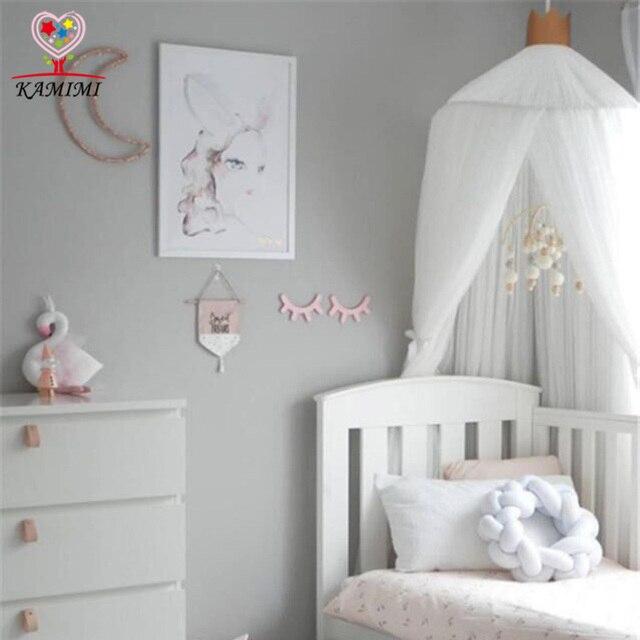 Baby Schlafzimmer Dekoration #19: 2017 Sommer Neue Baby Bett Vorhang Kinder Moskitonetz Kinder Baumwolle  Krippe Netting Baby Schlafzimmer Dekoration Baby