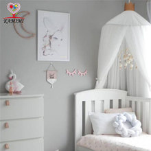2018 summer new Baby Crib Netting Baby bed curtain kids Mosquito Net Children baby room decoration children birthday gift(China)