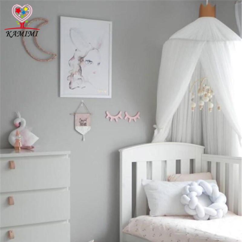 2018 лето новая детская сетка детская кроватка детская кровать занавес детей москитная сетка детская детская комната украшения детей подарок на день рождения