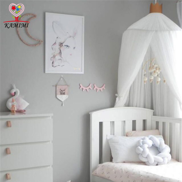 2018 Summer New Baby Crib Netting Bed Curtain Kids Mosquito Net Children Room Decoration