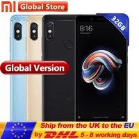 Original Global Version Xiaomi Redmi Note 5 3GB 32GB Mobile Phone Snapdragon S636 Octa Core 5.99 4000mAh 12.0MP+5.0MP