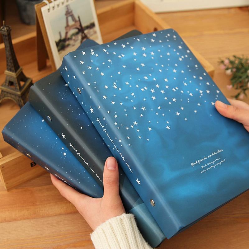 """Где купить """"Хорошая ночь"""" свободный лист ноутбук большая спираль Жесткая обложка дневник выровненные бумаги Журнал Планировщик исследование блокнот"""