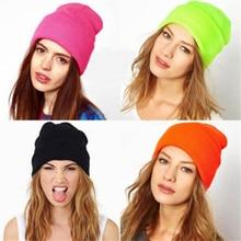 2020 candy style wool knit Women's Hats Girls Caps Boys Beanies hip hop winter w