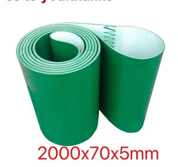 (Formato su misura Si Prega di Contattare) 2000x70x5mm Verde PVC Nastro Trasportatore Cintura Industriale Cinghia di Trasmissione(Formato su misura Si Prega di Contattare) 2000x70x5mm Verde PVC Nastro Trasportatore Cintura Industriale Cinghia di Trasmissione