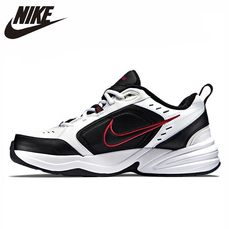 NIKE AIR MONARCH IV Original respirant hommes chaussures de course confortable haut Sports de plein AIR baskets #415445
