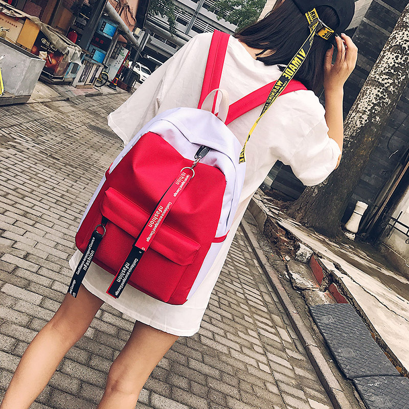 2017 Autumn Winter New Hot Fashion Women Female Casual Students School Zipper Simple Soft Shoulder Bags