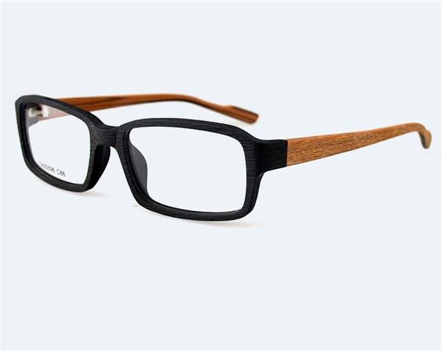 066072d5e8 Man Wooden Eyeglasses Frame Men Eyewear Male High End Classic Myopia Glasses  Top Quality Retro Spectacle