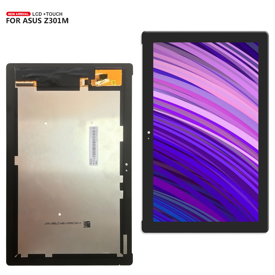 100% test For ASUS ZenPad 10 Z301M Z301ML P028 LCD display touch Panel screen digitizer assembly+Tools все цены