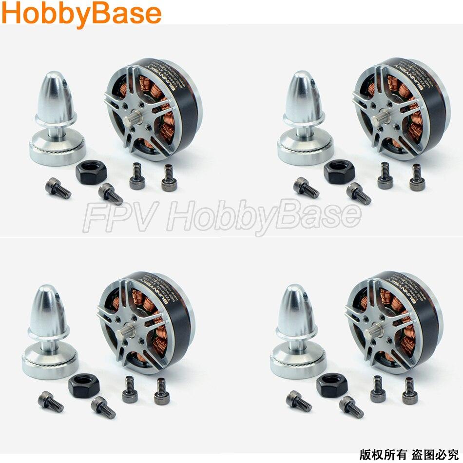 Sunnysky V2806 4pcs New original 400kv 650KV disc Brushless motor for RC Quadcopter Multicopter