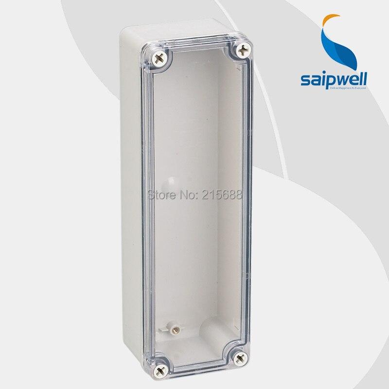Vente chaude Saipwell personnalisé commutateur boîte en plastique injection moule câble connecter boîtier de distribution 80*250*70mm type DS AT 0825 dans Boîtes À outils de Outils