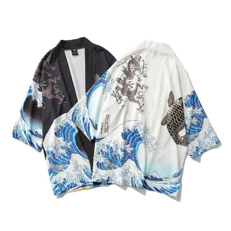 Kimono cardigan hombres japonés obi macho yukata hombres haori japonés samurái ropa tradicional japonesa Figura de anime original japonesa FGO/Gran Orden figura de acción Astolfo juguetes coleccionables para niños
