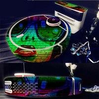 สีA Vatarผิวรูปลอกไวนิลห่อสำหรับXiaomiหุ่นยนต์ทำความสะอาดMIหุ่นยนต์สติ๊กเกอร์ตบฟิล์มป้องกัน17824