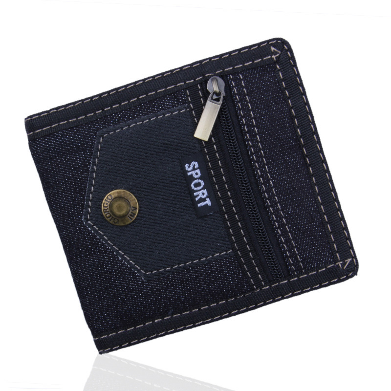 Men Women Wallet Money Bag Boy Bifold Canvas Coin ID Pouch New Arrival Style Hot Student Youth Teens Creative Fancy Unique japan anime katekyo hitman reborn wallet cosplay men women bifold coin purse