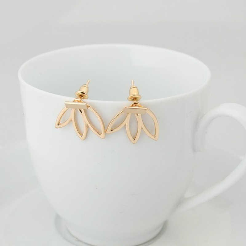 Hàn quốc Đơn Giản Bông Tai Fashion Jewelry Brincos Xỏ Sen Lady Statement Earrings Phụ Nữ Quà Tặng Oorbellen Brincos Earrings