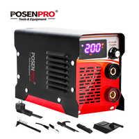 POSENPRO Schweißen Maschine AC220V MMA 120A/160A/200A AI Betrieb Arc Elektrische Schweißer Arbeits für Löten Schweißen Werkzeuge