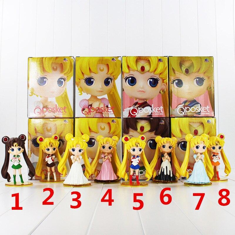 Anime Sailor Moon Usagi Tsukino PVC Figura di Azione