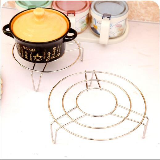 High Quality Stainless Steel High Foot Multipurpose Steaming Rack Steamers