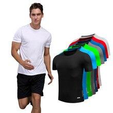 T-shirt de Sport pour Homme, séchage rapide, Slim, Fitness, musculation