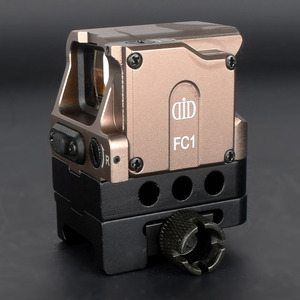 Image 2 - Оптический прицел DI FC1 с красной точкой, голографический прицел для рельсовой направляющей 20 мм (черный)