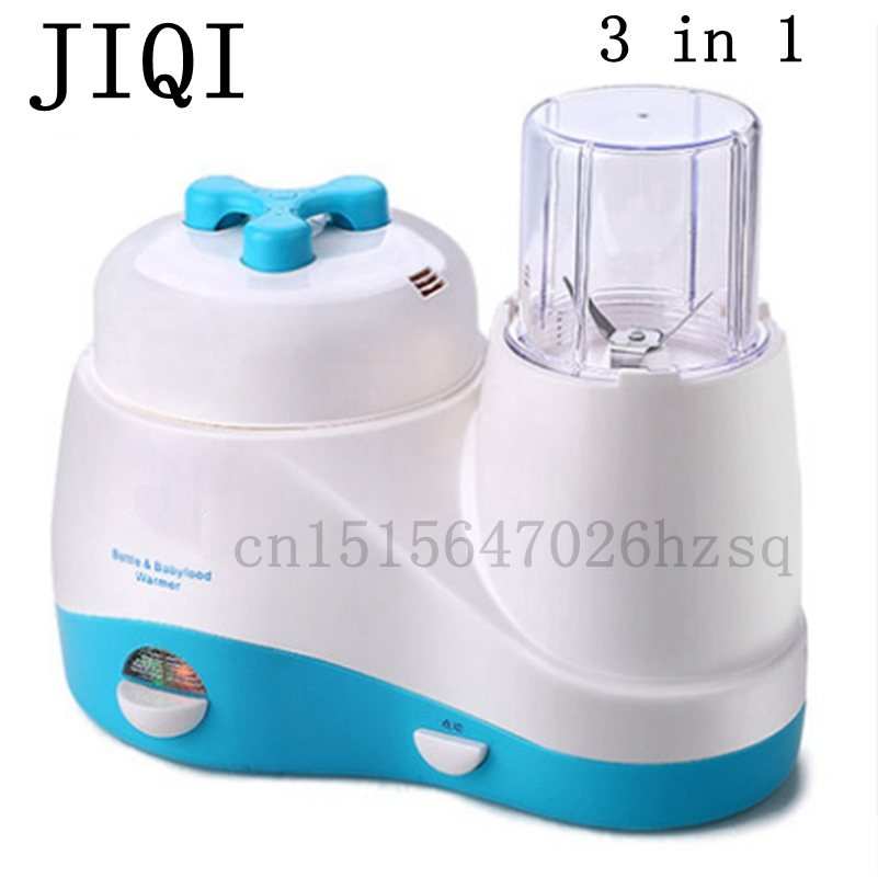 JIQI baby feeding machine Multi function baby food maker electric Blenders Food mixer for mothers fast food leisure fast food equipment stainless steel gas fryer 3l spanish churro maker machine