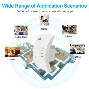 Image 2 - Wifi Repeater Wifi Tăng Áp 300Mbps Bộ Khuếch Đại Wi Fi Tín Hiệu Dài Bộ Khuếch Wi Fi Repeater 802.11N Điểm Truy Cập