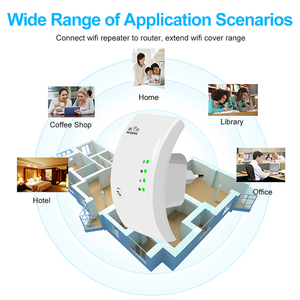 Image 2 - Wireless WiFi Repeater WiFi Booster 300Mbps WiFi Amplifier Wi Fi  long Signal Range Extender Wi Fi repeater 802.11N Access point