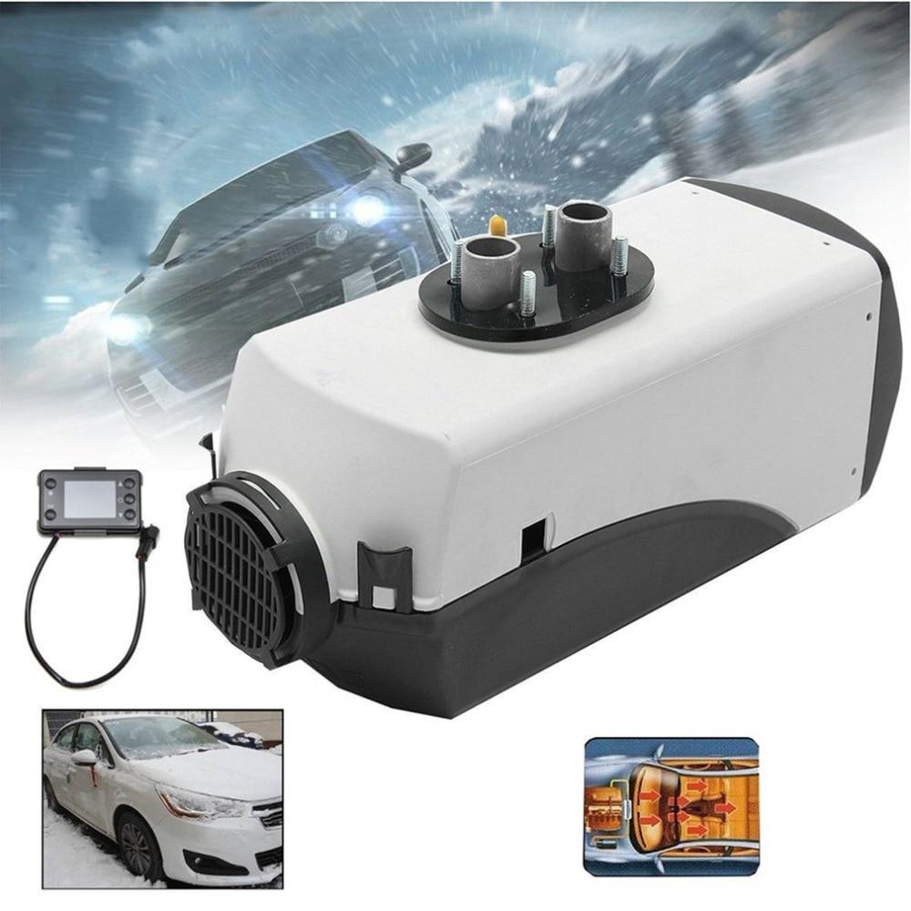 5KW 12 V voiture chauffage Air Diesels chauffage Parking chauffage avec télécommande LCD moniteur pour vr, camping-Car remorque camions bateaux chaud