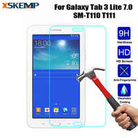 9H 0.3mm Shield Tablet Tempered Glass For Samsung Galaxy Tab 3 Lite 7.0 SM-T110/T111 Explosion-Proof Toughened Screen Protector
