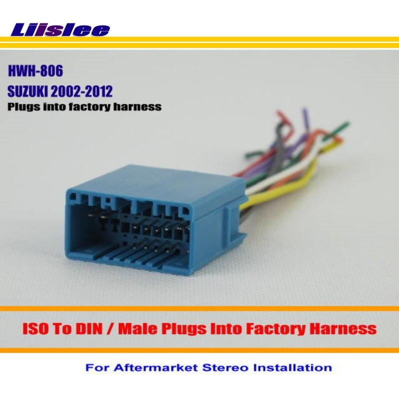 Liislee Auto Stereo Radio ISO Draht-anschluss Kabel Für SUZUKI Aerio ...