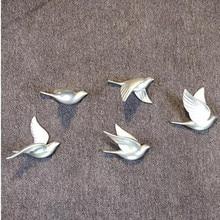 цены на Three-dimensional wall stickers crafts, wall decoration, swallows and seagull birds, wedding Christmas decoration gifts  в интернет-магазинах