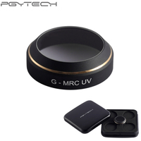 1pcs Portable PGYTECH Lens Filters For MAVIC Pro Drone G MRC UV CPL HD Filter