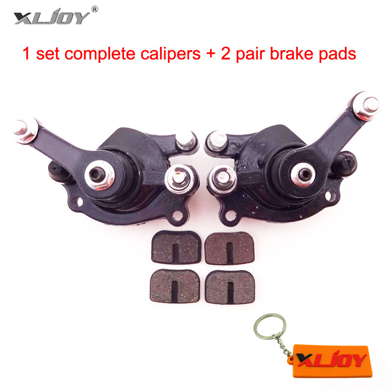 Front Rear Disc Brake Caliper Pads For 43cc 47cc 49cc