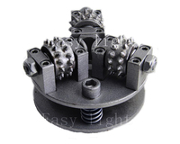 5 дюймов 125 мм Буш Молоток Колесо M14 M16 5/8 '' 11 настройки гораздо более Размеры сплав колесо для гранит Мрамор личи поверхности
