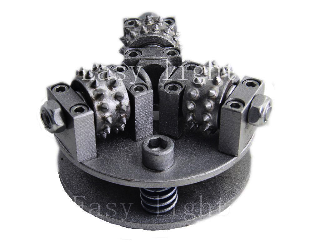 5 Inch 125mm Bush Hammer Wheel M14 M16 5/8''-11 Customization Much More Size Alloy Wheel For  Granite Marble Litchi Surface