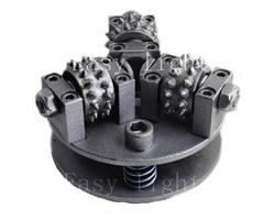 5 pollice 125mm Cespuglio Martello Ruota M14 M16 5/8 ''-11 Personalizzazione Molto Più Dimensione Cerchi in lega per granito Marmo Superficie Del Litchi